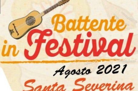 """Al via a Santa Severina il """"Battente Festival""""."""