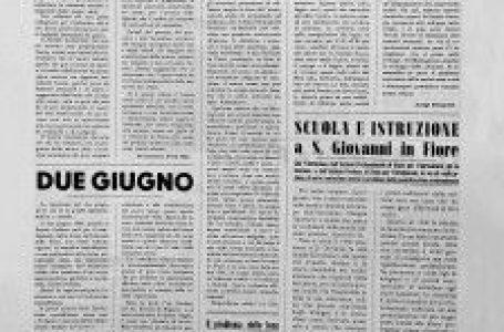 """Giornali calabresi: """"giubileo"""" per """"Il Nuovo Corriere della Sila"""" che festeggia i primi 25 anni."""